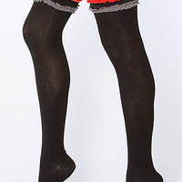 The Like a Boy Over the Knee Stirrup Legwarmer
