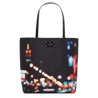 kate spade | fabric purses - kate spade city lights bon shopper