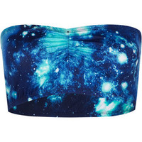 Galaxy Bandeau Black  In Sizes