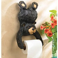 Playful Bear Toilet Paper Holder