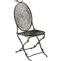 Cyan Designs Bird Chair in Muted Rust | Wayfair
