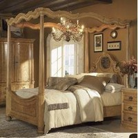 CLOSEOUT SPECIAL! - Palencia King Size Canopy Bed - Wynwood Furniture - 1708-KBED