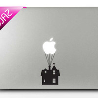 Castle in the air mac sticker mac decal macbook sticker macbook decal macbook pro sticker macbook pro decal