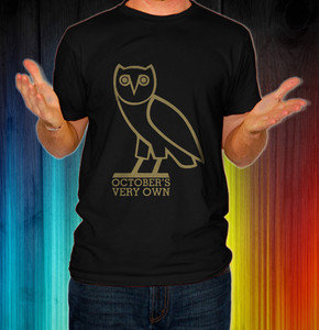 New October's Very Own OVOXO OVO Music Men T Shirt Tee