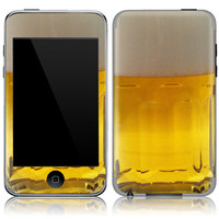 Apple iPod Touch 2nd 3rd Gen Skin Cover - Beer Mug