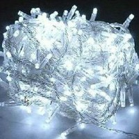 Amazon.com: 100 Led 10m Christmas Wedding White Color Fairy String Lights w/ 8 Function Controller: Home & Kitchen