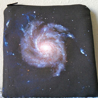Pinwheel Galaxy Padded Zipper Pouch I've Got by SummeryCreations