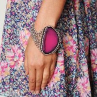 Free People Raw Stone Bracelet at Free People Clothing Boutique