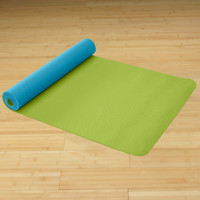 Eco Friendly Reversible Yoga Mat - Peacock - Gaiam