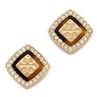 Tory Burch McCoy Post Earrings | SHOPBOP