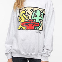Urban Outfitters - Junk Food Keith Haring Proverbial Sweatshirt