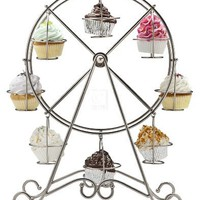 FERRIS WHEEL CUPCAKE HOLDER HOLDS 8 CUPCAKES