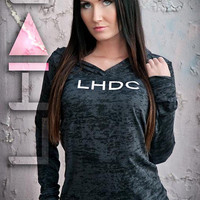 Womens LHDC Hoody/Black