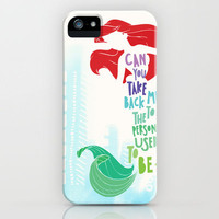 ariel iPhone Case by Sara Eshak | Society6