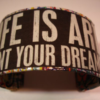 Life is Art Paint Your Dreams Picasso Decoupage by cuffscouture