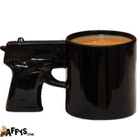 Office Party Gifts - Gun Coffee Mug - Affys.com