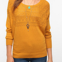 Urban Outfitters - Pins and Needles Pointelle Dolman Sweater