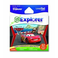 Disney-Pixar Cars 2 (works with LeapPad & Leapster Explorer): Toys & Games