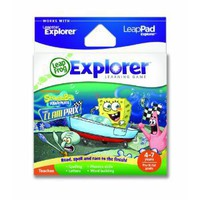 LeapFrog Explorer Learning Game: SpongeBob SquarePants