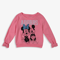 Adorbs Minnie & Mickey Top