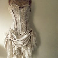 Dusky dress by NaturallyBohemian on Etsy