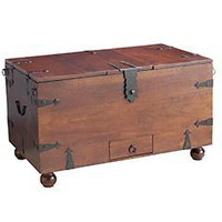 Pier 1 Imports > Catalog > Furniture > Pier1ToGo Product Details - Ridgeway Wine Storage Trunk