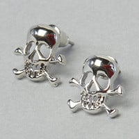 The Exclusive Skull and Crossbones Earring : *The Extras : Karmaloop.com - Global Concrete Culture