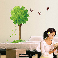 Tree and Birds Livingroom Wallsticker Decal - GULLEITRUSTMART.COM