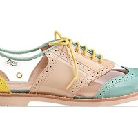 Rachel Antonoff By Bass Maebird in Azure Coral at Solestruck.com