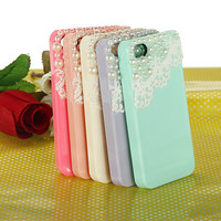 Cute Pearl &amp; Lace iPhone 4 4S Case