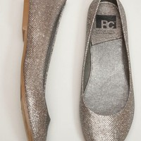 BC Footwear Limousine Metallic Flat - American Eagle Outfitters