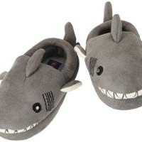 Stride Rite Little Boys' Lighted Shark Slipper, Grey, 7/8