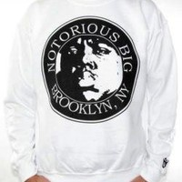 ROCKWORLDEAST - Notorious BIG, Sweatshirt, Brooklyn NY