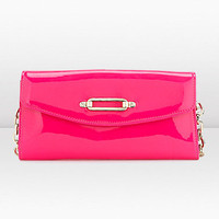 Jimmy Choo | Nini | Patent Leather Wallet | JIMMYCHOO.COM
