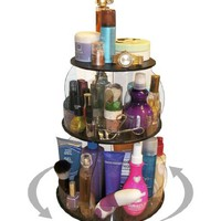Makeup & Cosmetic Organizer That Spins for Easy Access to all your Beauty Essentials, NO More Clutt