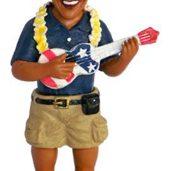 Barack Obama Dashboard Doll - Playing Ukulele / 4