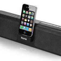 iHome iP46 Portable 30-Pin iPod/iPhone Speaker Dock