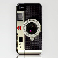 Leica Camera, Hard Plastic iphone 4/4s case, FREE shipping
