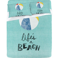 DENY Designs Home Accessories | Nick Nelson Lifes A Beach Sheet Set