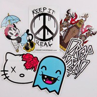 Drop Dead - Keep It Real - Sticker Pack