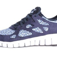 Nike Womens Free Run+2 Liberty Ext Obsidian 540848-400 7.5