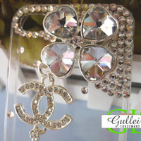 iPhone4G Clover Crystal Diamond Case - GULLEITRUSTMART.COM