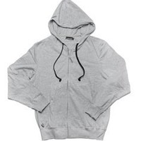 Grey Full Zip HoodieBuddie with HB3 Technology