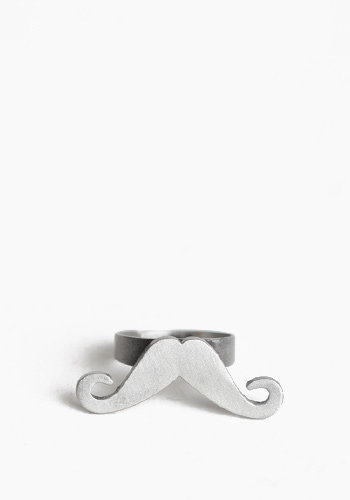 Mustachio Ring - $9.00 : ThreadSence.com, Your Spot For Indie Clothing  Indie Urban Culture