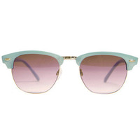 GYPSY WARRIOR - Sorbet Sunglasses - Teal