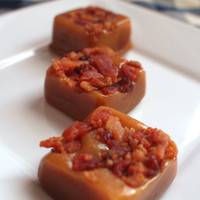 Bacon Sea Salt Caramels 8 oz by FusionSweets on Etsy