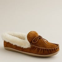 Women&#x27;s shoes - slippers - Lodge moccasins - J.Crew