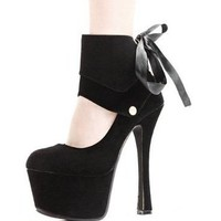 Elegant Platform Pumps -   2 colors