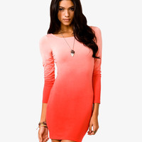 Ombré Bodycon Dress