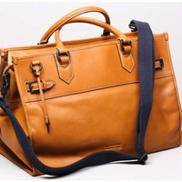 Oak | ben minkoff michael leather weekender Oak